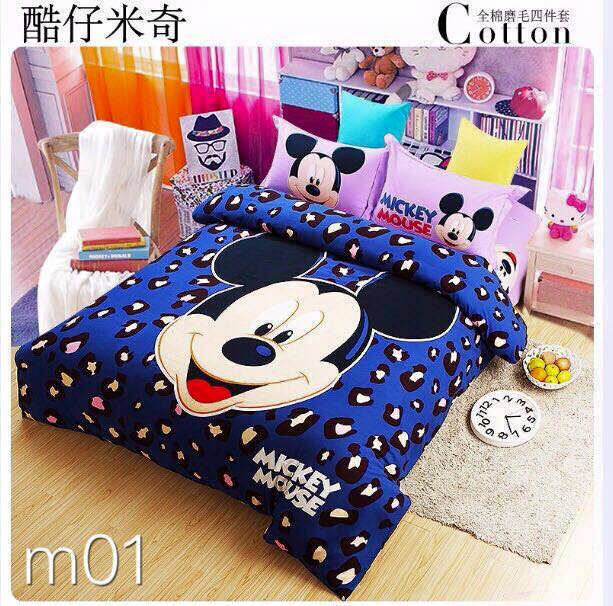 M01 Mickey Mouse Bedsheet Set - Click Image to Close